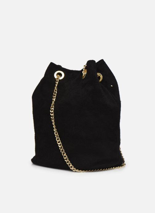 Handtaschen Georgia Rose Maena schwarz ansicht von rechts