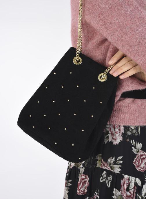 Handtaschen Georgia Rose Maena schwarz ansicht von unten / tasche getragen