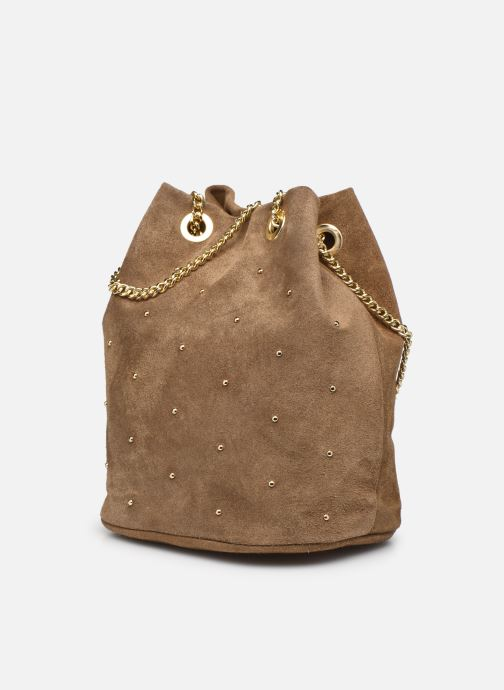 Handtaschen Georgia Rose Maena beige schuhe getragen