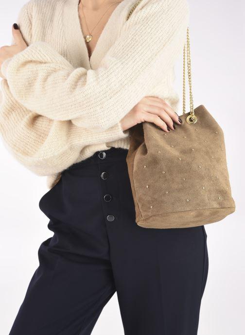 Handtaschen Georgia Rose Maena beige ansicht von unten / tasche getragen