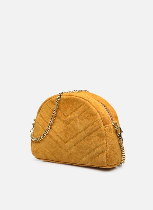 Handtaschen Georgia Rose Marisol gelb schuhe getragen