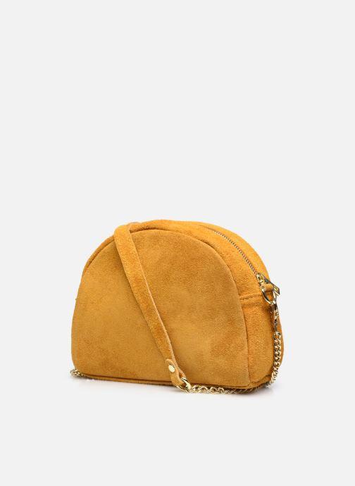 Handtaschen Georgia Rose Marisol gelb ansicht von rechts