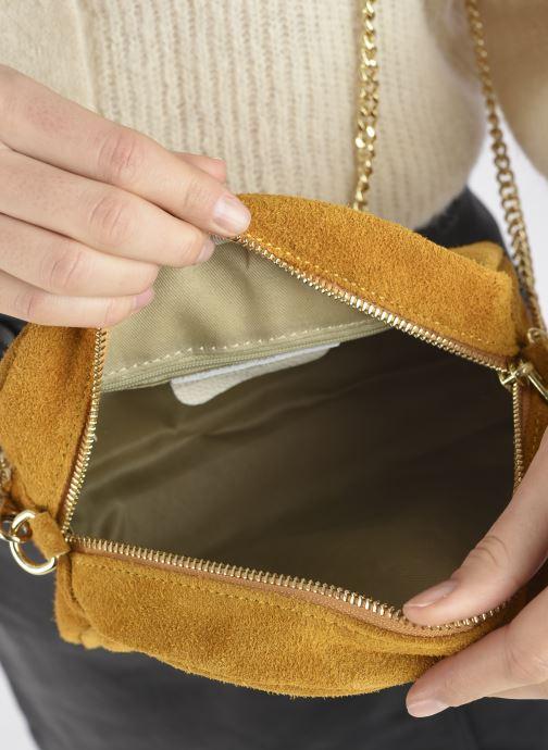 Handtaschen Georgia Rose Marisol gelb ansicht von hinten