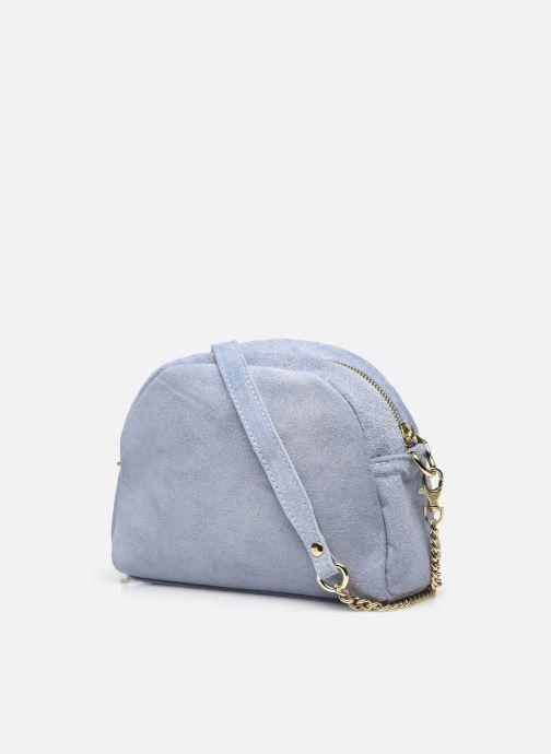 Handtaschen Georgia Rose Marisol blau ansicht von rechts