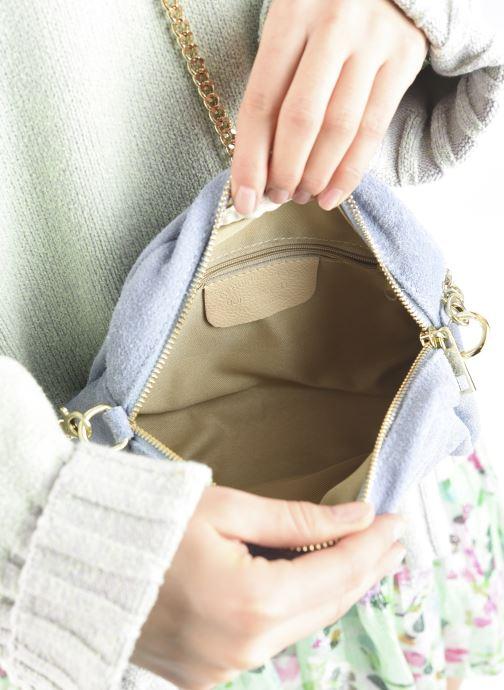 Handtaschen Georgia Rose Marisol blau ansicht von hinten