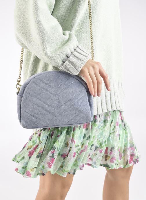 Handtaschen Georgia Rose Marisol blau ansicht von unten / tasche getragen