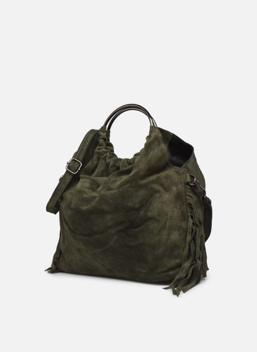 Handtaschen Georgia Rose Mulia grün schuhe getragen