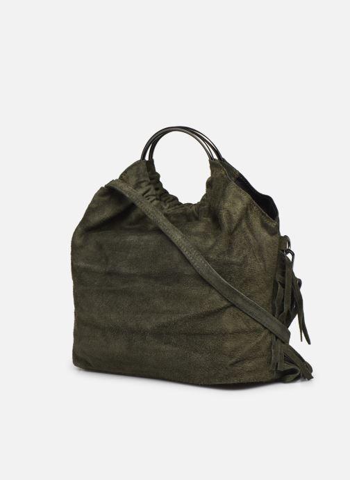 Handtaschen Georgia Rose Mulia grün ansicht von rechts