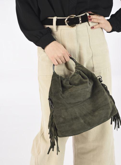 Handtaschen Georgia Rose Mulia grün ansicht von unten / tasche getragen