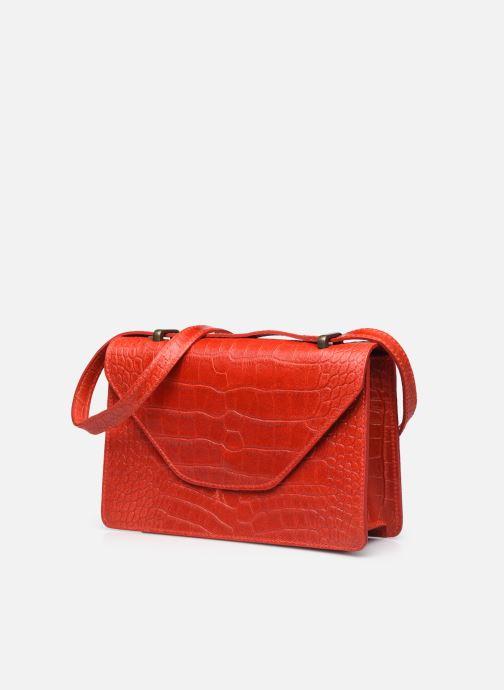 Handtaschen Georgia Rose Mafalda rot schuhe getragen
