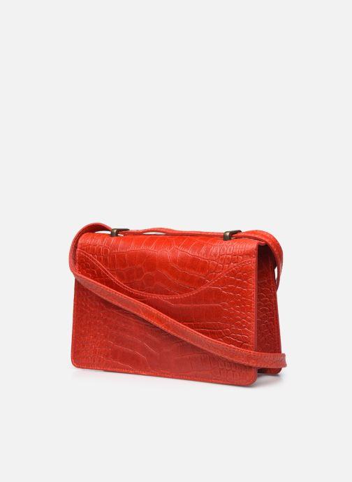 Handtaschen Georgia Rose Mafalda rot ansicht von rechts
