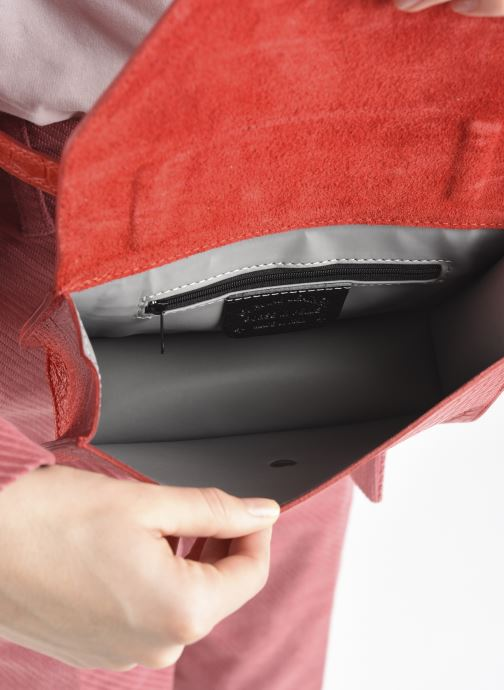 Handtaschen Georgia Rose Mafalda rot ansicht von hinten