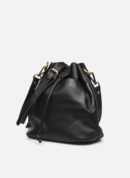 Handtaschen Georgia Rose Madeline schwarz schuhe getragen