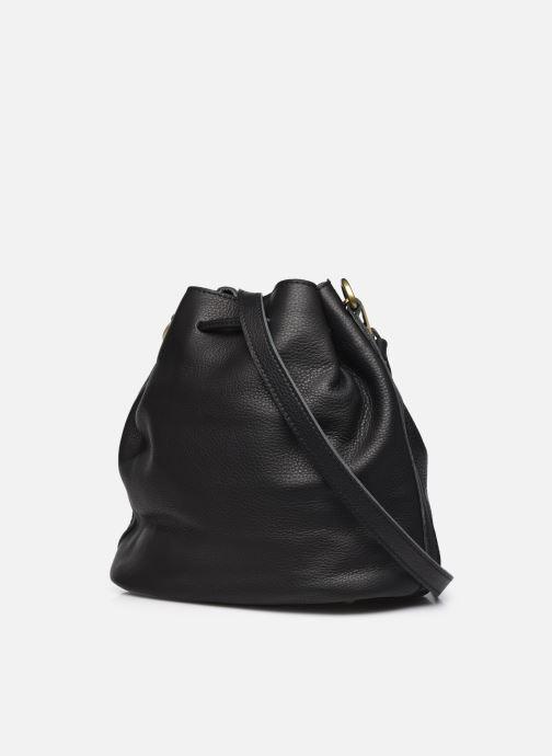 Handtaschen Georgia Rose Madeline schwarz ansicht von rechts