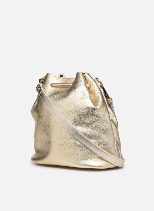 Handtaschen Georgia Rose Madeline gold/bronze ansicht von rechts