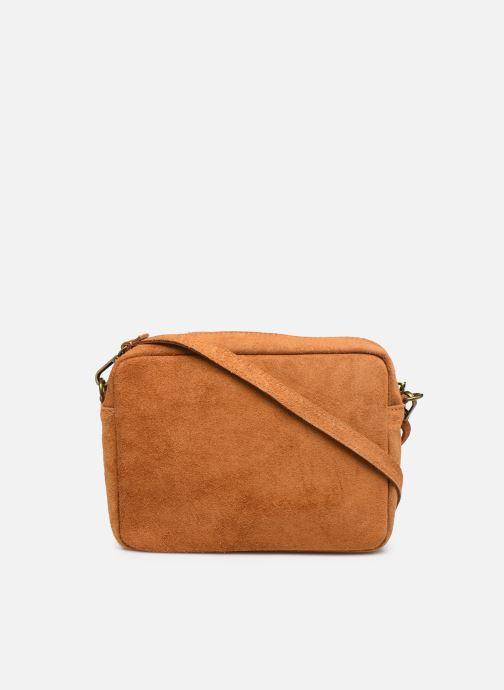 Handtaschen Georgia Rose Mélodie braun ansicht von vorne