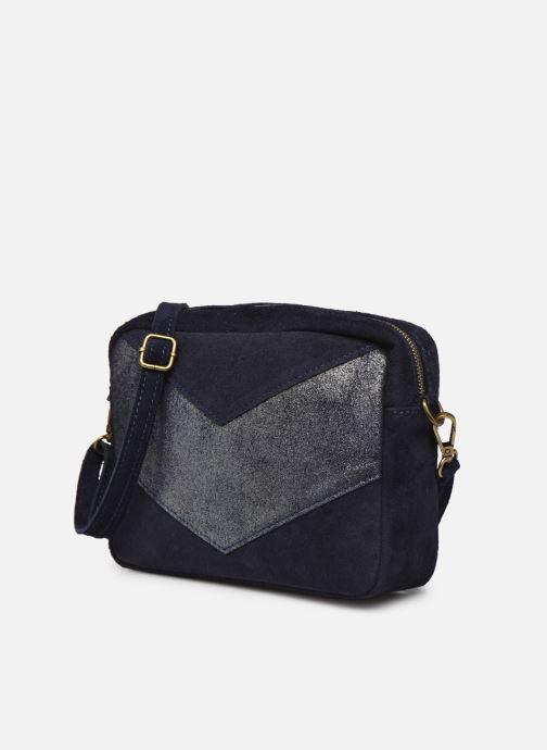 Handtaschen Georgia Rose Mélodie blau schuhe getragen