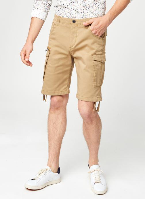 Vêtements Jack & Jones Jjibasic Jjcargo Shorts Akm 628 Beige vue détail/paire