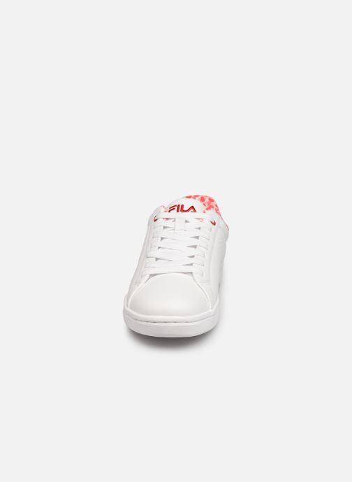 Sneaker FILA Crosscourt 2 F low W weiß schuhe getragen
