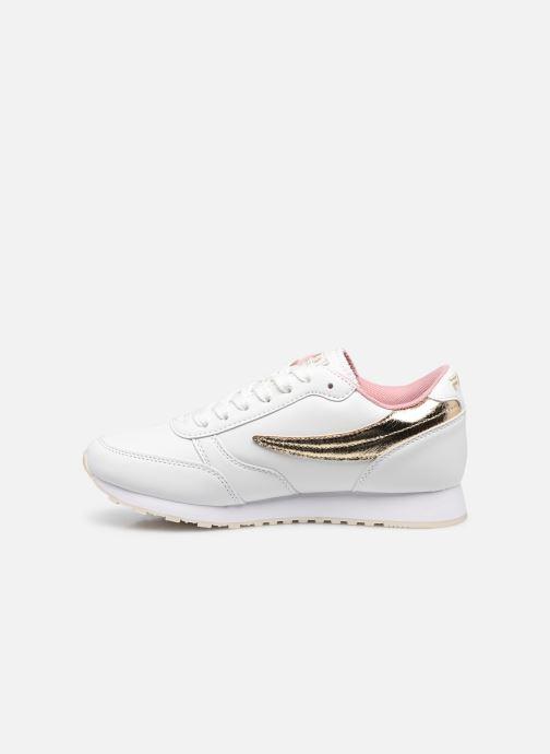 Sneakers FILA Orbit F low W Wit voorkant