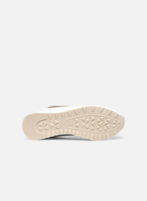 Sneaker FILA Orbit F low W weiß ansicht von oben