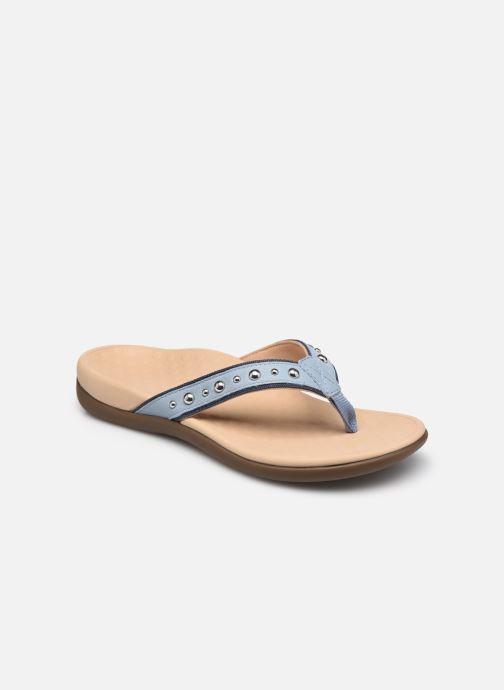Slippers Vionic vanessa Blauw detail