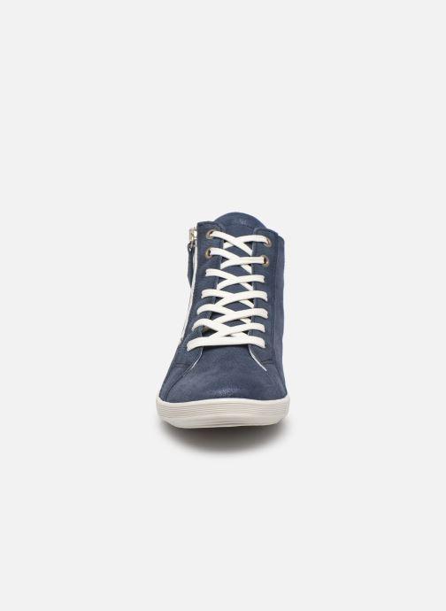 Sneakers Pédiconfort Noémie - Sneakers à aérosemelle, Grande largeur Blauw model