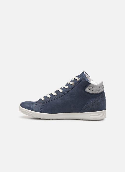 Sneakers Pédiconfort Noémie - Sneakers à aérosemelle, Grande largeur Blauw voorkant