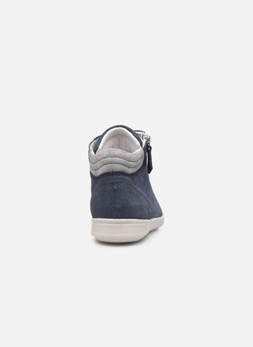 Sneakers Pédiconfort Noémie - Sneakers à aérosemelle, Grande largeur Blauw rechts
