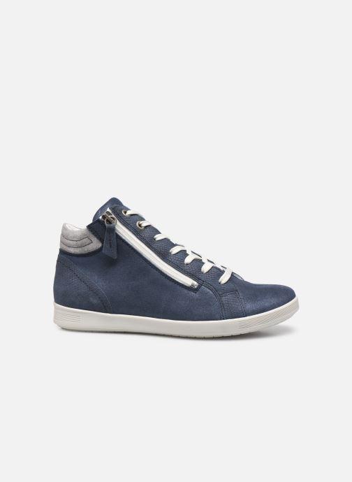 Sneakers Pédiconfort Noémie - Sneakers à aérosemelle, Grande largeur Blauw achterkant