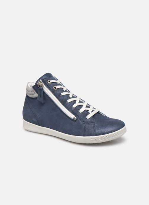 Sneakers Pédiconfort Noémie - Sneakers à aérosemelle, Grande largeur Blauw detail