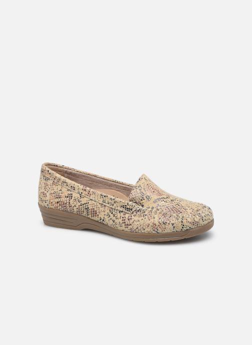 Slipper Pédiconfort Fanie - Mocassin sans couture, Grande largeur beige detaillierte ansicht/modell
