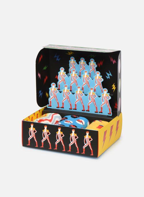 Calze e collant Happy Socks Gift Box David Bowie Lot de 3 Multicolore modello indossato