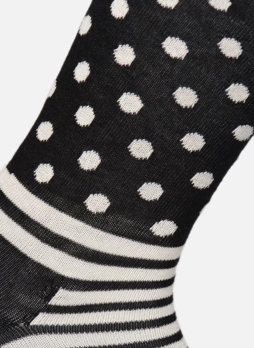 Calze e collant Happy Socks Gift Box Black & White Lot de 4 Nero immagine sinistra