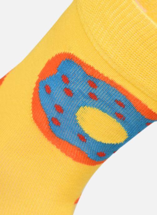Calze e collant Happy Socks Chaussettes Donut Giallo modello indossato