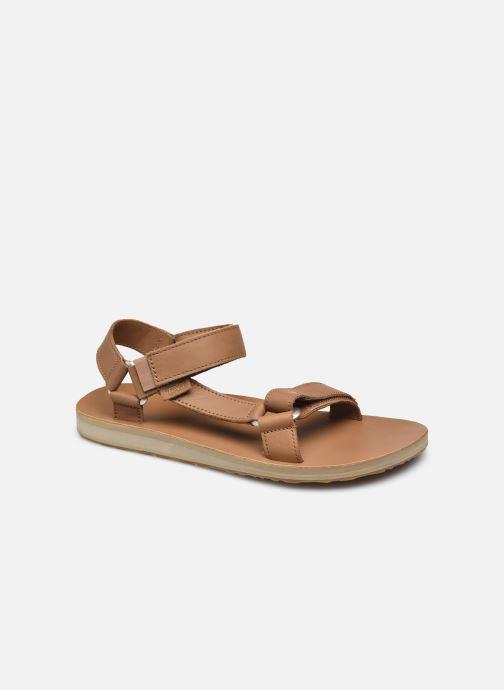 Sandales et nu-pieds Teva Men's Original Universal Leather Marron vue détail/paire