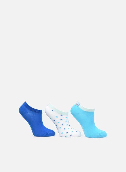 Socken & Strumpfhosen Dim KID Socquettes Courtes Coquillage Coton Style  X3 blau schuhe getragen