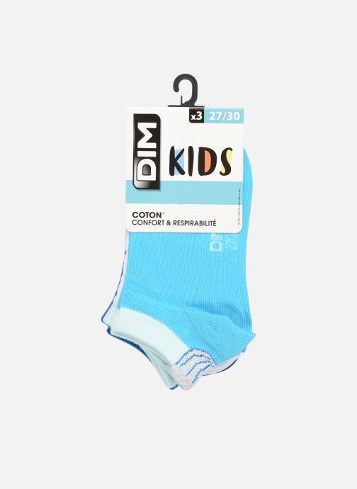 Socken & Strumpfhosen Dim KID Socquettes Courtes Coquillage Coton Style  X3 blau detaillierte ansicht/modell