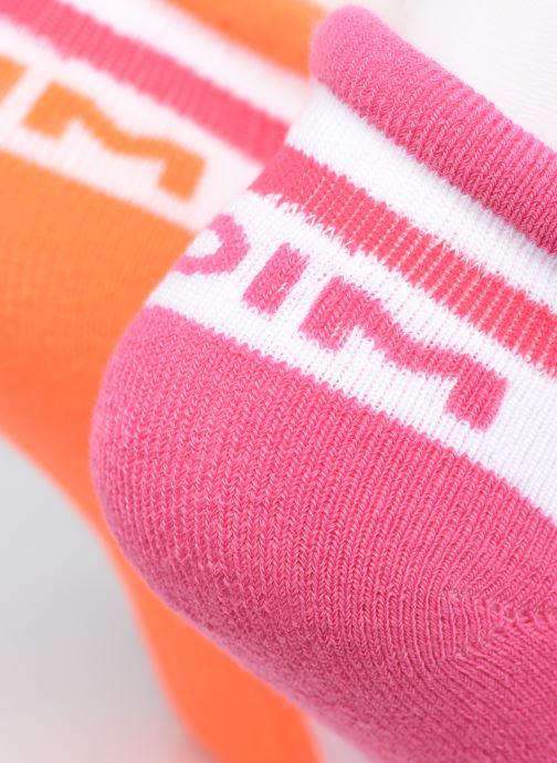 Socken & Strumpfhosen Dim KID Socquettes Courtes Sport Retro X2 weiß ansicht von vorne