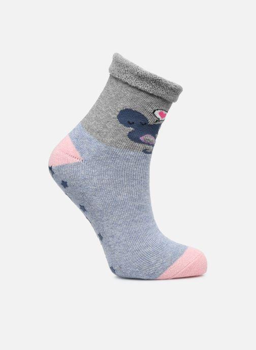 Socken & Strumpfhosen Dim KID Mi Chaussette STOPPER Pieuvre grau schuhe getragen