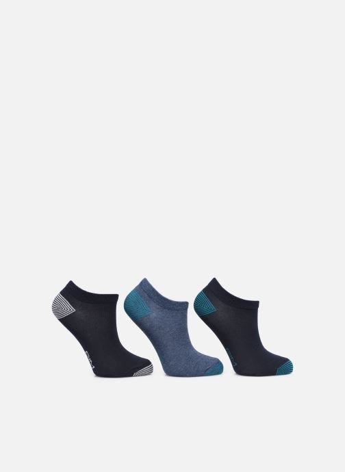 Socken & Strumpfhosen Dim KID Socquettes courtes Mix & Match Coton Style X3 blau schuhe getragen