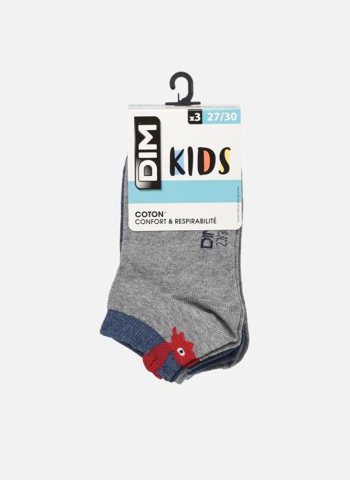 Socken & Strumpfhosen Dim KID Socquettes Courtes Crabes Coton Style  X3 grau detaillierte ansicht/modell