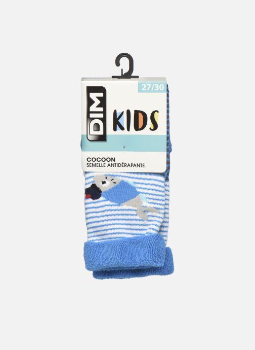 Sokken en panty's Dim KID Mi Chaussette STOPPER Sardine Blauw detail