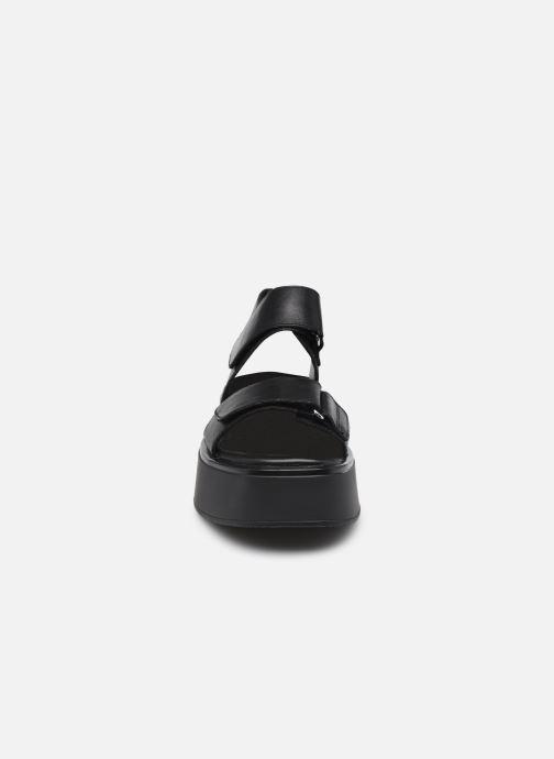 Sandalen Vagabond Shoemakers COURTNEY 5134-201 schwarz schuhe getragen