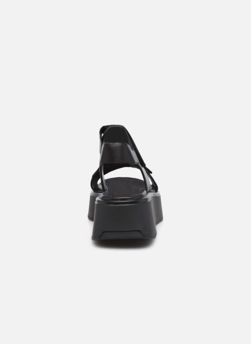 Sandalen Vagabond Shoemakers COURTNEY 5134-201 schwarz ansicht von rechts