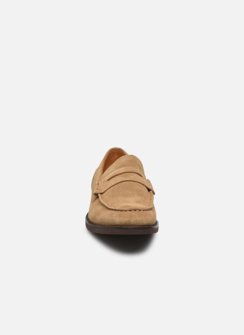 Mocassini Vagabond Shoemakers MARIO Beige modello indossato