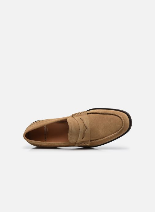 Mocassini Vagabond Shoemakers MARIO Beige immagine sinistra