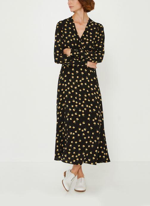 Vêtements Accessoires Robe longue cache-coeur imprimé floral