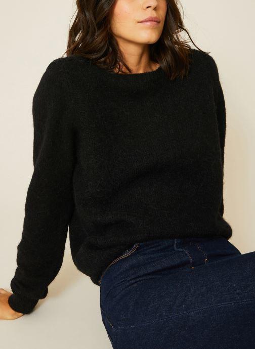 Vêtements Monoprix Femme Pull Noir vue détail/paire