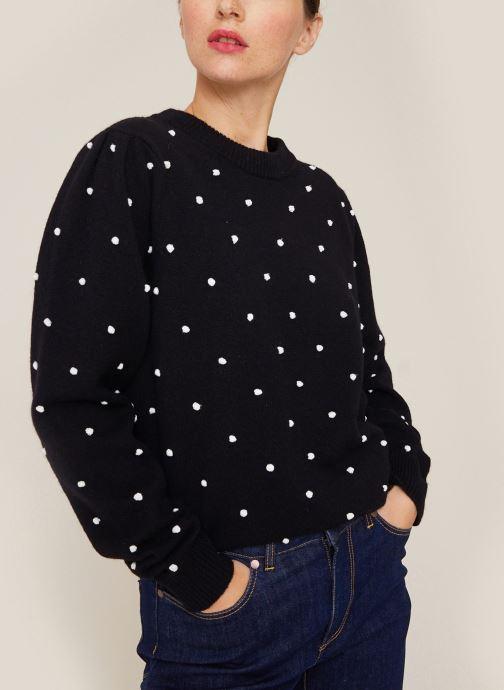 Kleding Monoprix Femme Pull Zwart detail